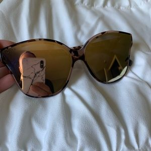 Diff Eyewear Accessories - Diff Eyewear Piper Tortoise Sunglasses